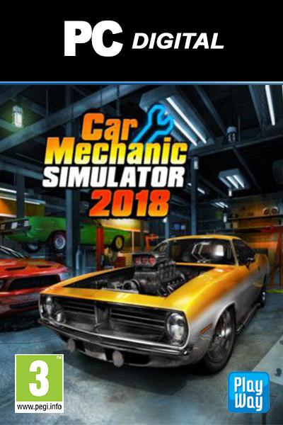 Car Mechanic Simulator >> The Halpa Car Mechanic Simulator 2018 Pc Lle Suomi