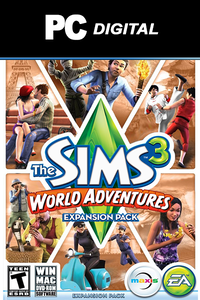 The Sims 3: World Adventures DLC PC