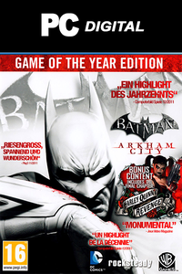 Batman: Arkham City GOTY Edition PC