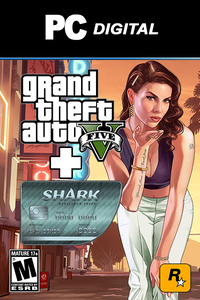GTA V + Megalodon Shark Cash Card PC