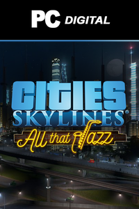 Cities: Skylines - All That Jazz DLC PC