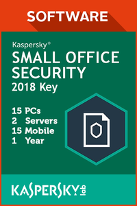 Kaspersky Small Office Security 15 PCs / 2 Servers / 15 Mobile / 1 Year