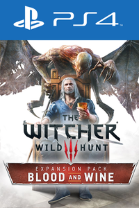 The Witcher 3: Wild Hunt - Blood and Wine DLC PS4