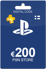 Playstation Network Card 200 Euro Finland