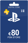 Playstation Network Card 80 Euro Finland