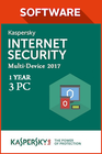 Kaspersky Internet Security Multi Device 2017 1 Year 3 PC