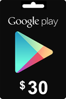 Google Play Gift Card 30 USD
