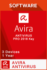 Avira Antivirus Pro 2018 1 Year - 3 Devices