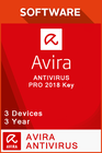 Avira Antivirus Pro 2018 3 Years - 3 Devices