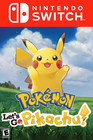Pokémon: Let's Go, Pikachu Nintendo Switch