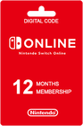 Nintendo Switch Online 12 kk