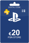 Playstation Network Card 20 Euro Finland