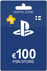 Playstation Network Card 100 Euro Finland