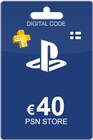 Playstation Network Card 40 Euro Finland