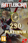 Battleborn - 230 Platinum Currency
