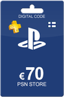 Playstation Network Card 70 Euro Finland