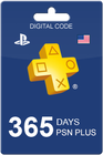PlayStation Plus 365 päivää USA