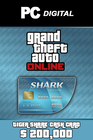 Tiger Shark Cash Card 200,000 USD